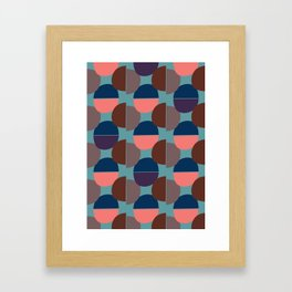 Geometric Abstract #1 Framed Art Print