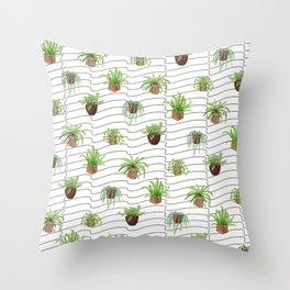 Plant Lady Throw Pillow
