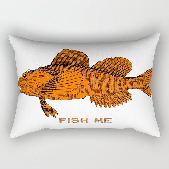 Fish Me Rectangular Pillow