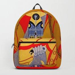 "Art Deco Design ""Samson & Delilah"" Backpack"