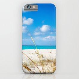 Half Moon Bay dunes, Turks & Caicos iPhone Case
