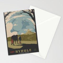 Visit Hyrule Stationery Cards