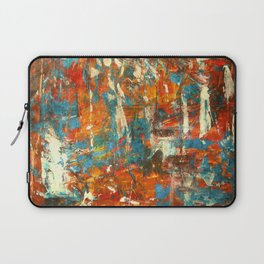 An Oasis In A Desert Abstract Painting Laptop Sleeve