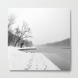 It's getting chilly out there Metal Print
