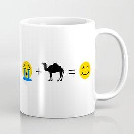 Dromedary Emoji Funny Dromedaries Make me Happy Coffee Mug