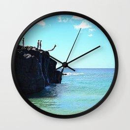 Waimea Bay Wall Clock