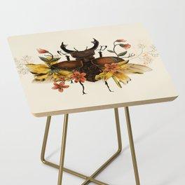 Blooming Beetle Side Table