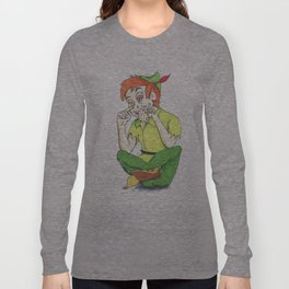 Faith and trust and pixie dust Long Sleeve T-shirt