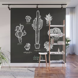 Desert Friends. Cacti and Succulents Wall Mural