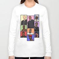 hiphop Long Sleeve T-shirts featuring HipHop Legends by Akyanyme