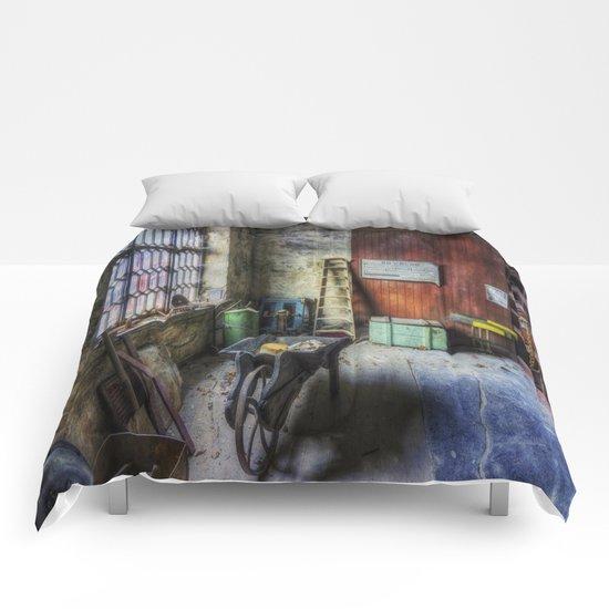 Olde Victorian Slate Workshop Comforters