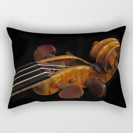 Violin Scroll Rectangular Pillow
