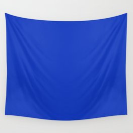 Simply Solid - Cobalt Blue Wall Tapestry
