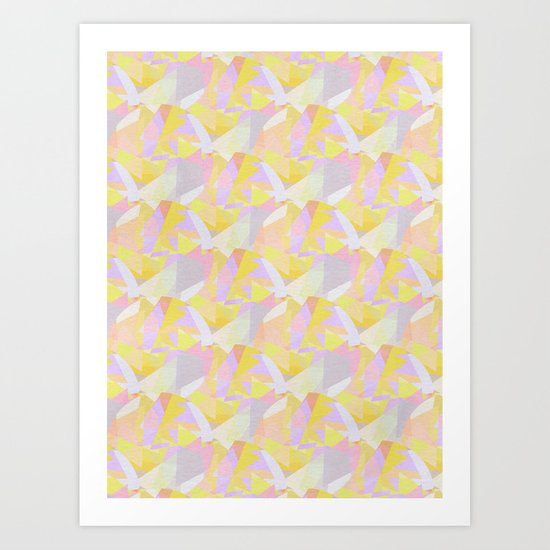 Abstract repeat // 1 Art Print