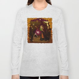 Witch and Wizard of Halloween Long Sleeve T-shirt