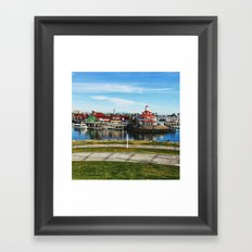Shoreline Village Framed Art Print