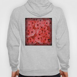 Veterans | Memorial Day | Remembrance Day | We Remember | Red Poppies | Nadia Bonello Hoody