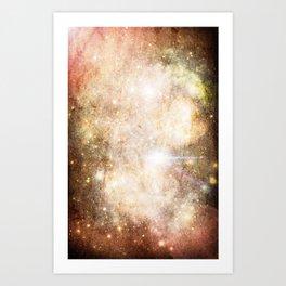 Gundam Retro Space 1 - No text Art Print