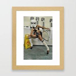 Coco Trooper Framed Art Print