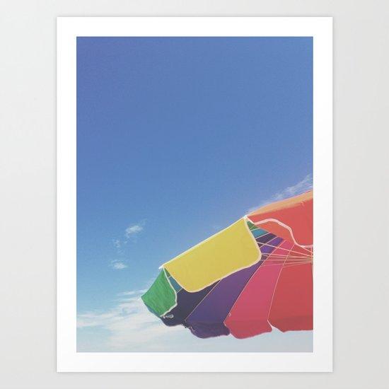 long island summer Art Print