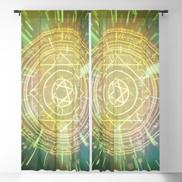 Strange Magic Mandala 3 Blackout Curtain