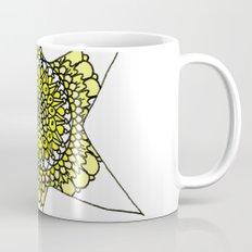 Yellow Superstar Mandala Star Mug