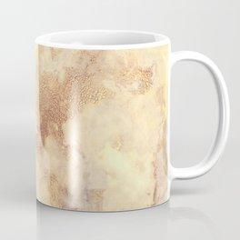 Elegant vintage faux gold boho chic marble Coffee Mug