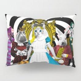 Cat-lice in Wonderland Pillow Sham