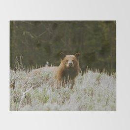 Bush Bear Throw Blanket