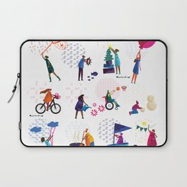colorHIVE characters Laptop Sleeve