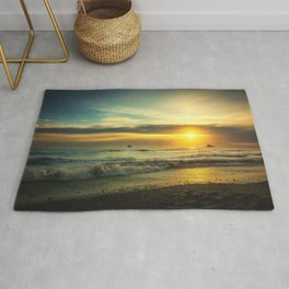 Pacific Coast Sunset Rug