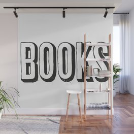Books 2 Wall Mural
