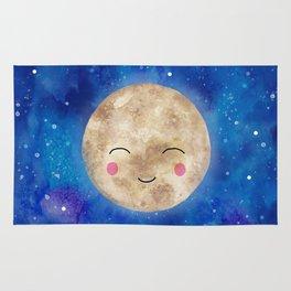 Happy moon Rug