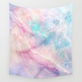Iridescent marble Wall Tapestry