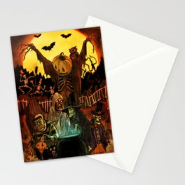 HALLOWS EVE Stationery Cards