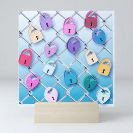 Love Locks Mini Art Print