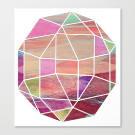Geometric Tundra  Canvas Print