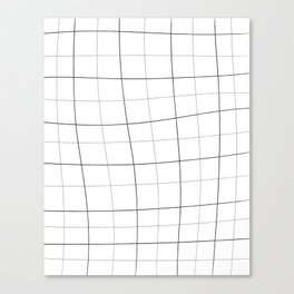 MINIMAL GRID Canvas Print