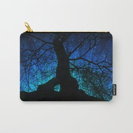 Tree under a spangled sky (dark version) Carry-All Pouch