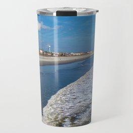 Folly Beach in Charleston - the other side Travel Mug