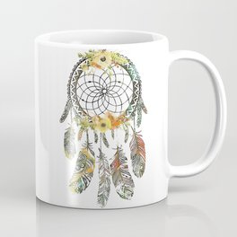 Watercolor floral dream catcher Coffee Mug