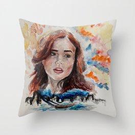Clary Fray Throw Pillow