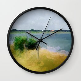 The best place for relaxing - Amrum Wall Clock