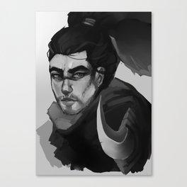 Yasuo BW Canvas Print