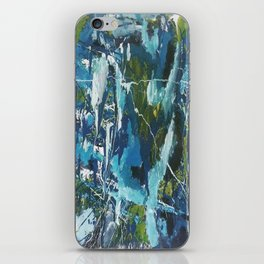 Abstract Paint Oil iPhone Skin
