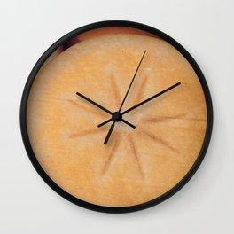 Persimmon Star Wall Clock