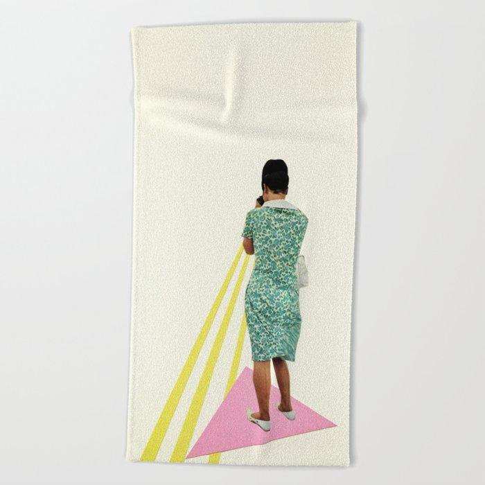 The Photographer Beach Towel