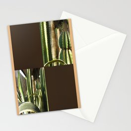 Cactus Garden Blank Q3F0 Stationery Cards