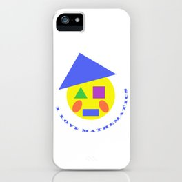 Mister Mathematic iPhone Case