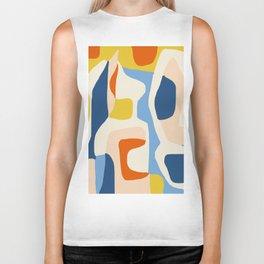 Me & Mine #abstract #painting Biker Tank